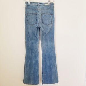 Pilcro and the Letterpress Jeans - Pilcro Superscript High-Rise Flare Jeans